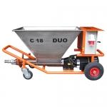Injektážní a omítací čerpadlo C 18 DUO