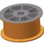 Rotor MAXI - lichoběžníkové otvory