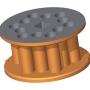 Rotor - kruhové otvory (12)